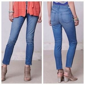 Pilcro High Rise Superscript Skinny Jeans